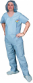 30 Pack - No Pocket Disposable Scrubs (Unisex)