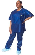 30 Pack - Economical Disposable Scrubs (Unisex)