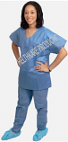 30 Pack - Premium Disposable Scrubs (Unisex)